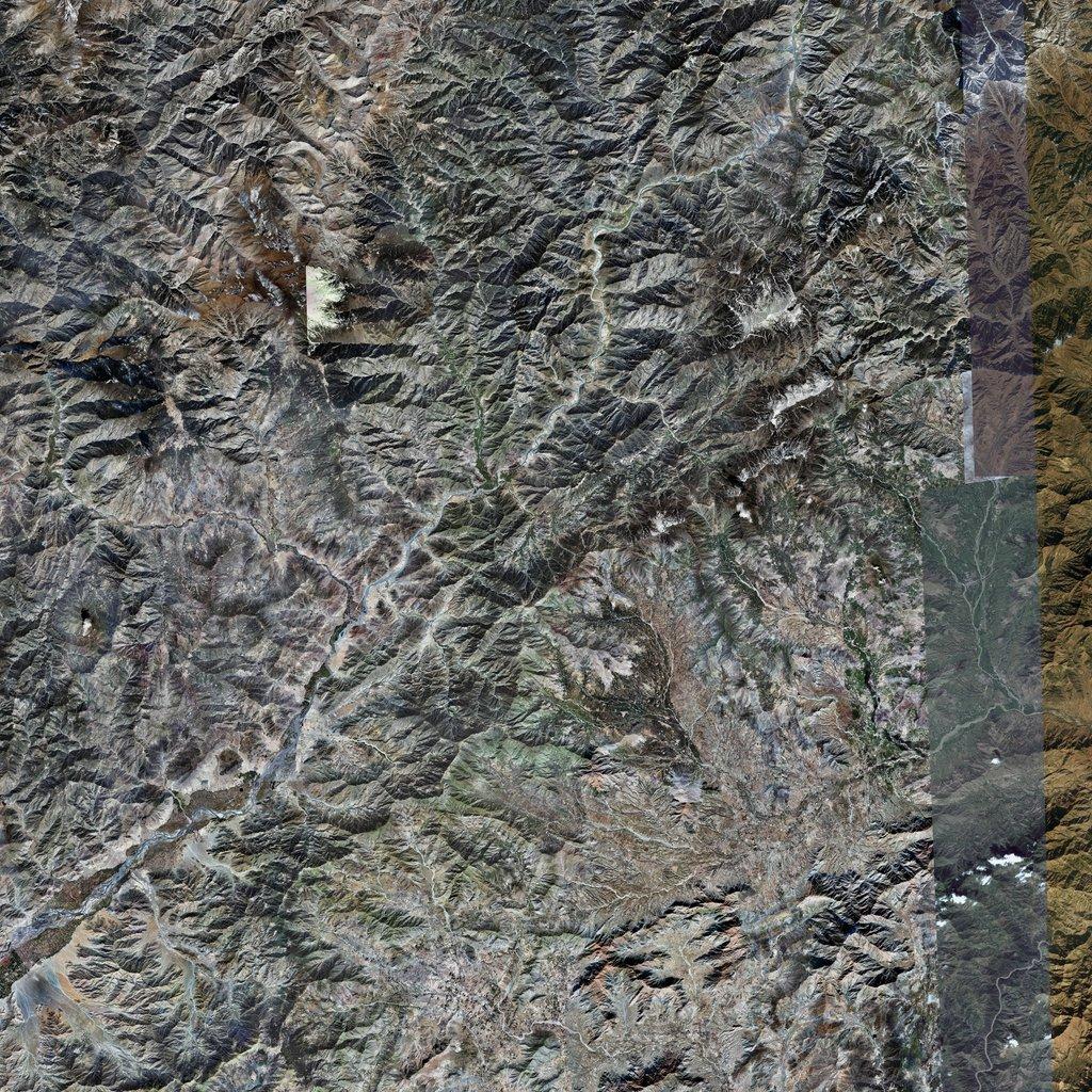 PMC Afghanistan, Asadabad Terrains Satellite Texture