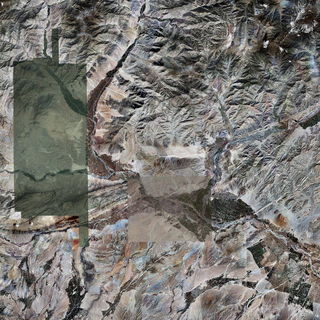 PMC Afghanistan, Jalalabad Terrains Satellite Texture