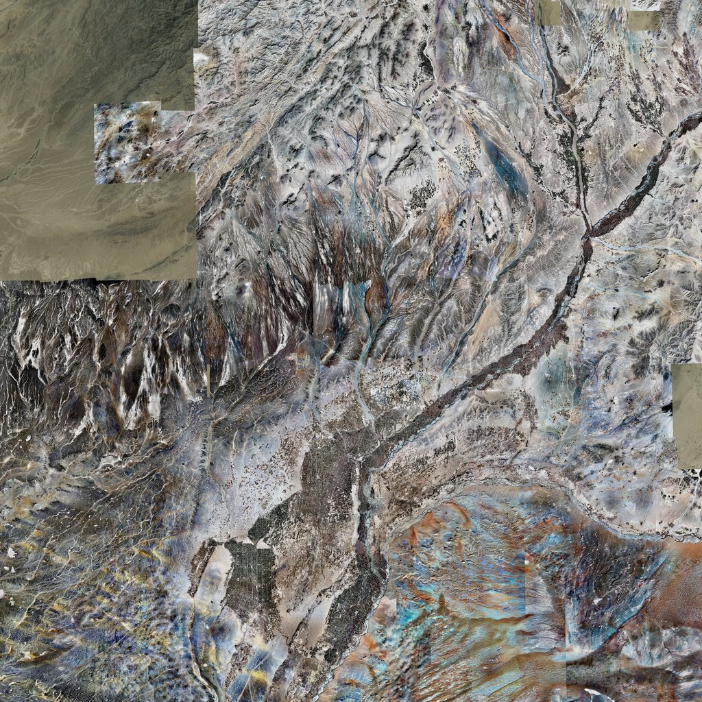 PMC Afghanistan, Lashkar Gah Terrains Satellite Texture