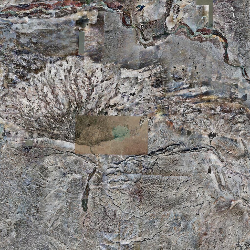 PMC Afghanistan, Mazari Sharif Terrains Satellite Texture