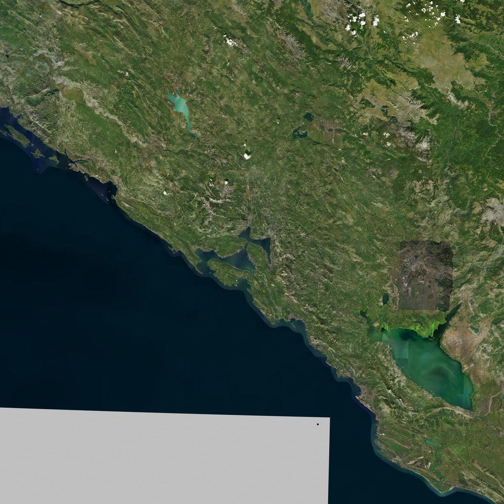PMC Balkans, Montenegro Terrains Satellite Texture