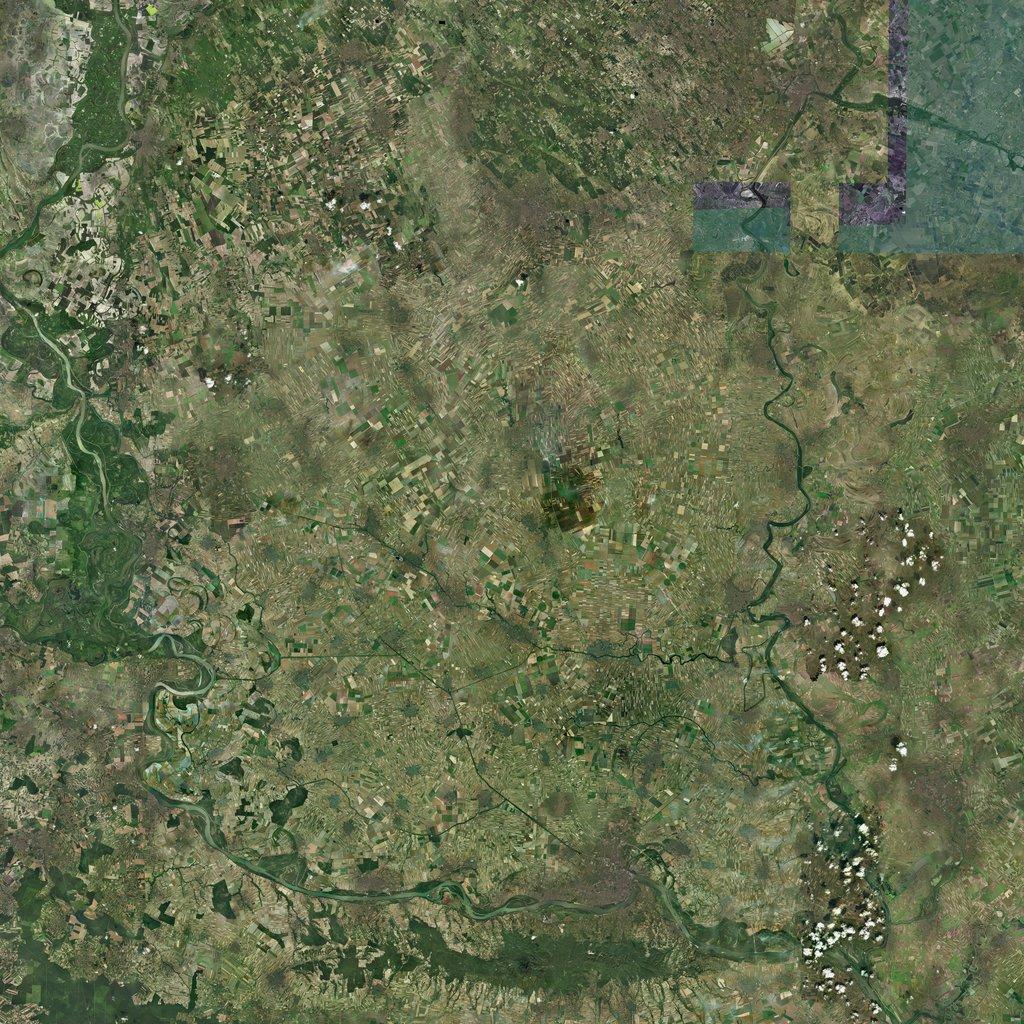 PMC Balkans, Vojvodina Terrains Satellite Texture