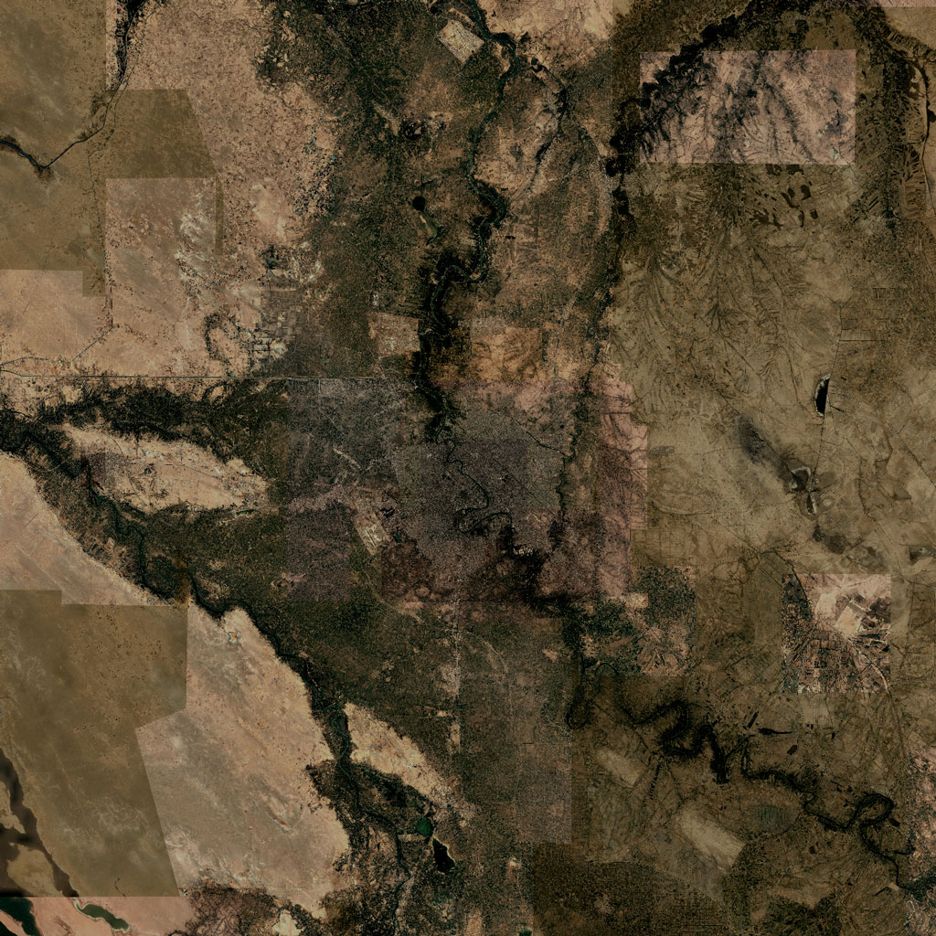 PMC Iraq, Baghdad Terrains Satellite Texture