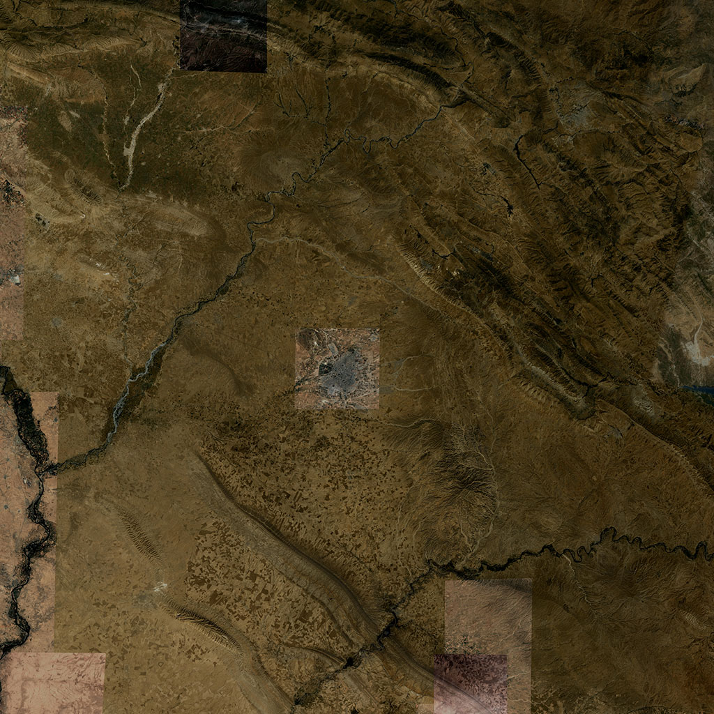 PMC Iraq, Erbil Terrains Satellite Texture