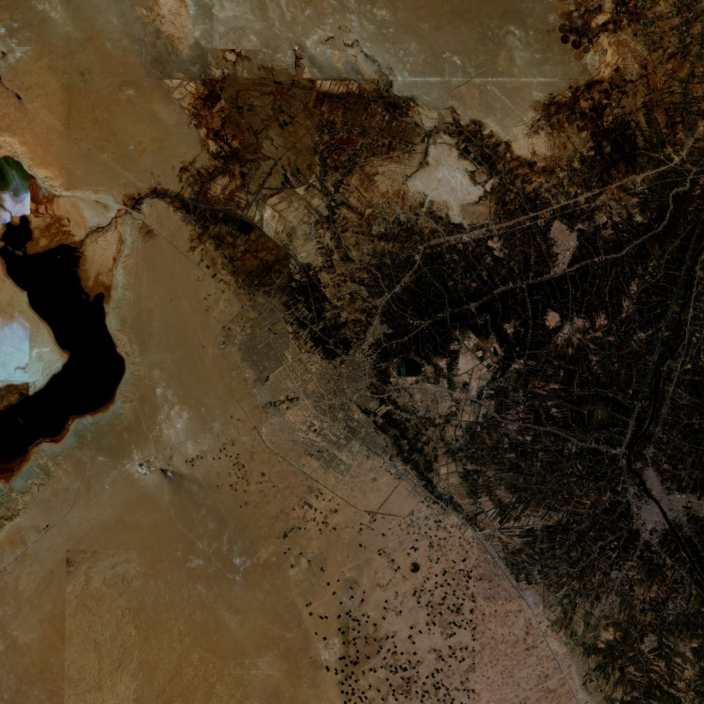PMC Iraq, Karbala Terrains Satellite Texture