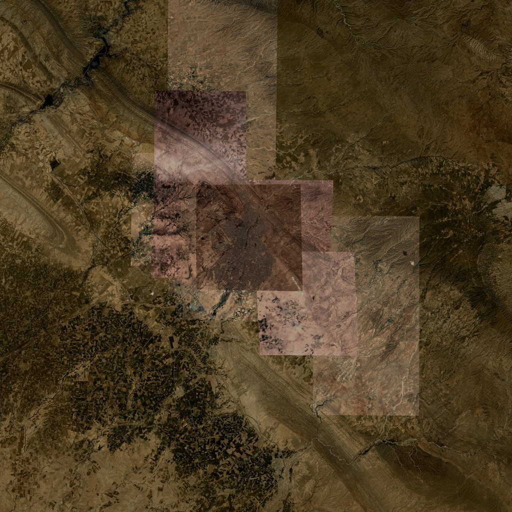 PMC Iraq, Kirkuk Terrains Satellite Texture