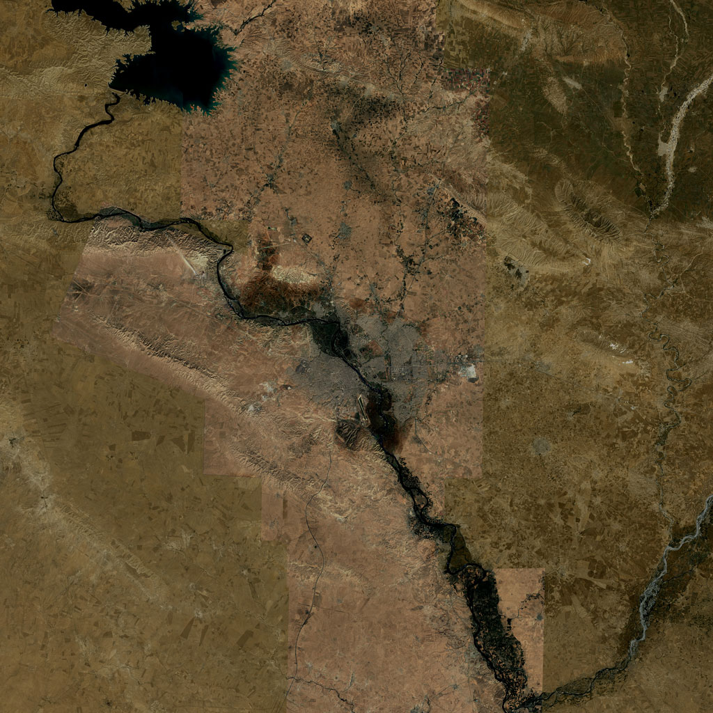 PMC Iraq, Mosul Terrains Satellite Texture