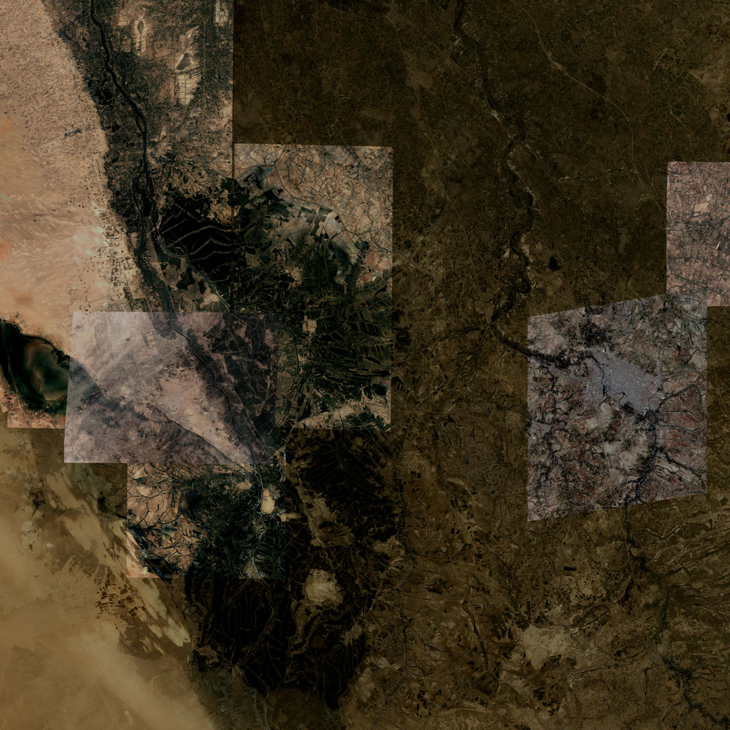 PMC Iraq, Najaf Terrains Satellite Texture