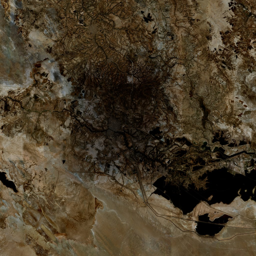 PMC Iraq, Nasiriyah Terrains Satellite Texture