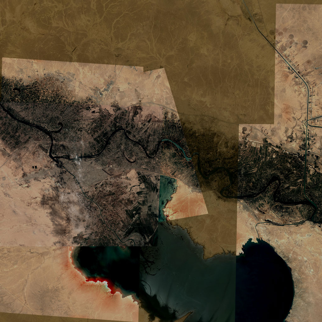 PMC Iraq, Ramadi Terrains Satellite Texture