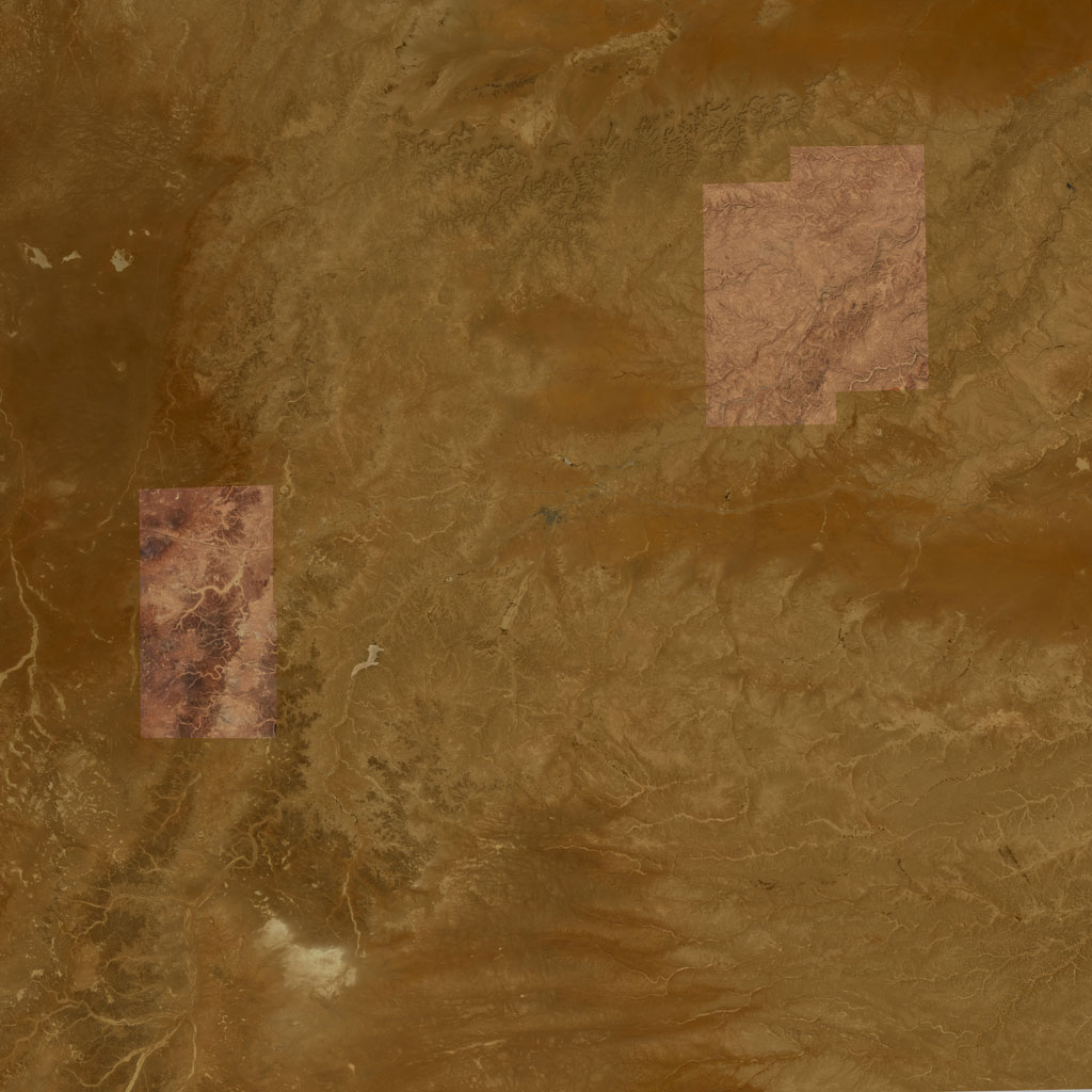 PMC Iraq, Rutba Terrains Satellite Texture
