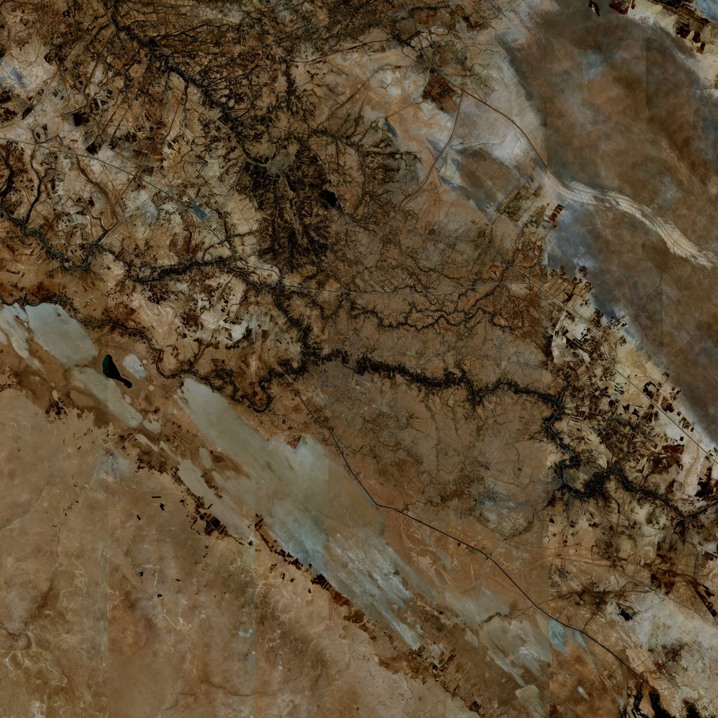 PMC Iraq, Samawah Terrains Satellite Texture