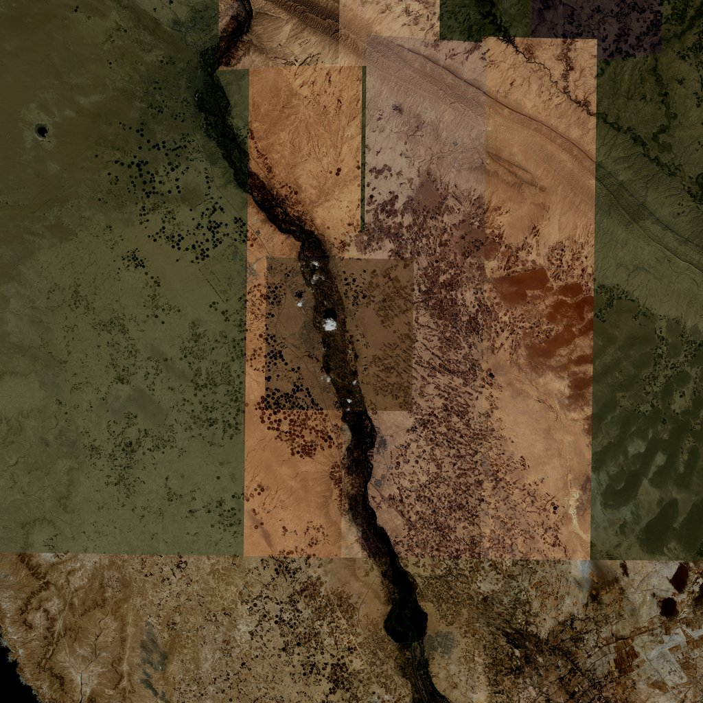 PMC Iraq, Tikrit Terrains Satellite Texture