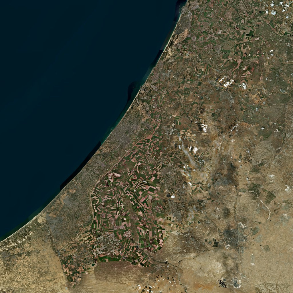 PMC Israel, Gaza Strip Terrains Satellite Texture