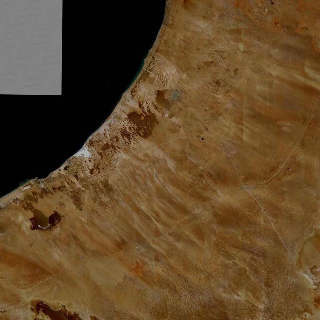 PMC Libya, Ajdabiya Terrains Satellite Texture