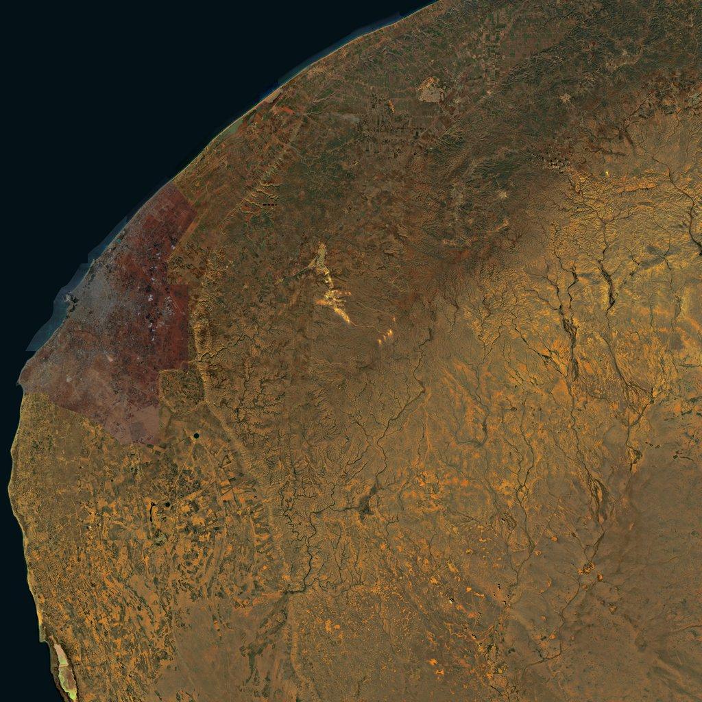 PMC Libya, Benghazi Terrains Satellite Texture