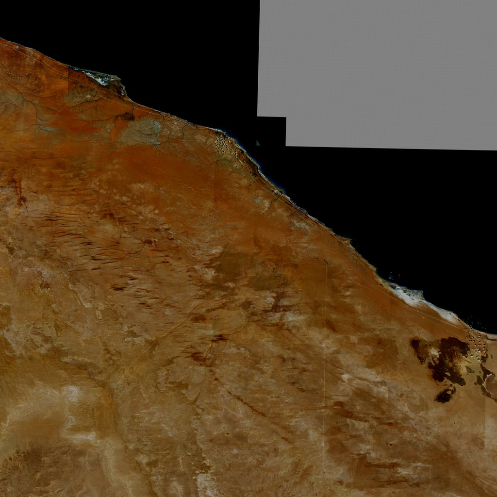 PMC Libya, Bin Jawad Terrains Satellite Texture