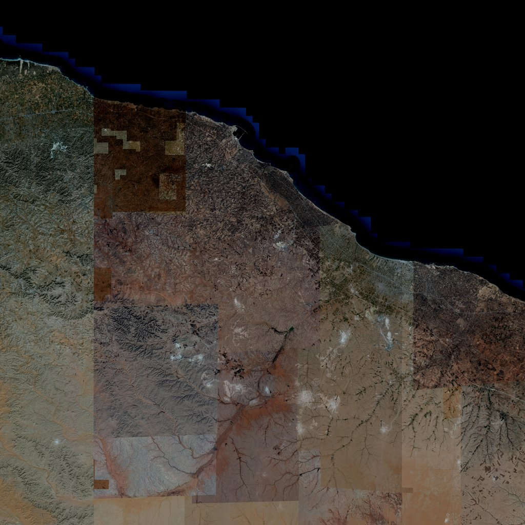 PMC Libya, Msallata Terrains Satellite Texture