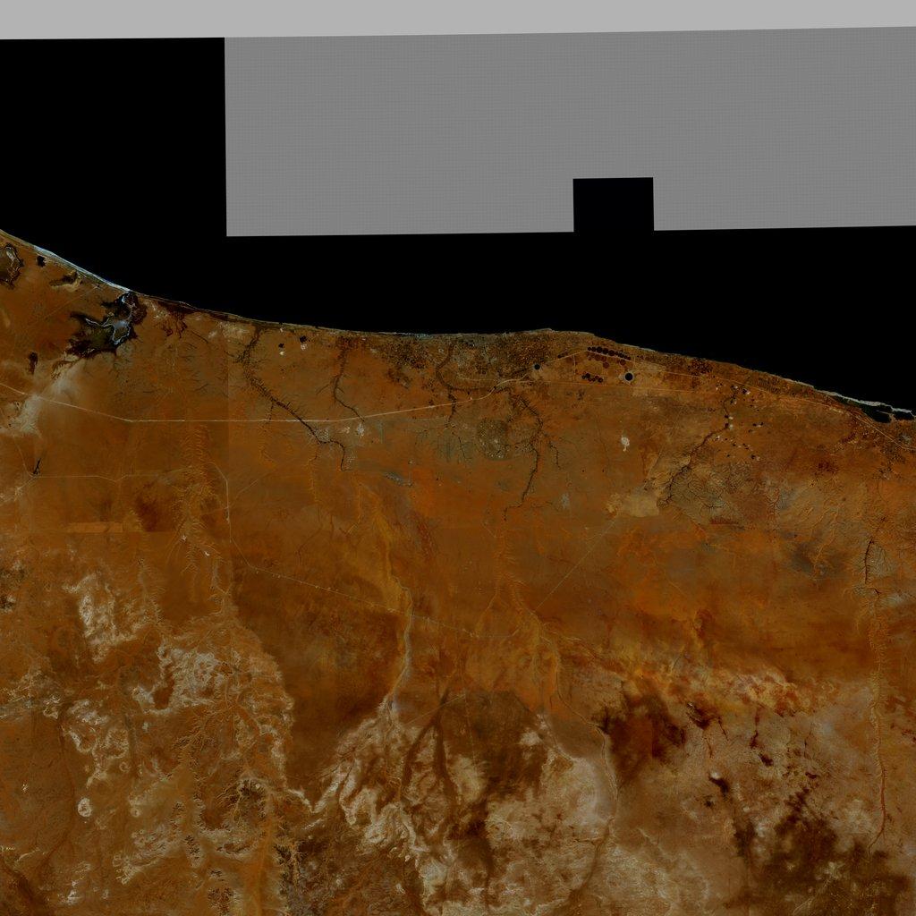 PMC Libya, Sirte Terrains Satellite Texture