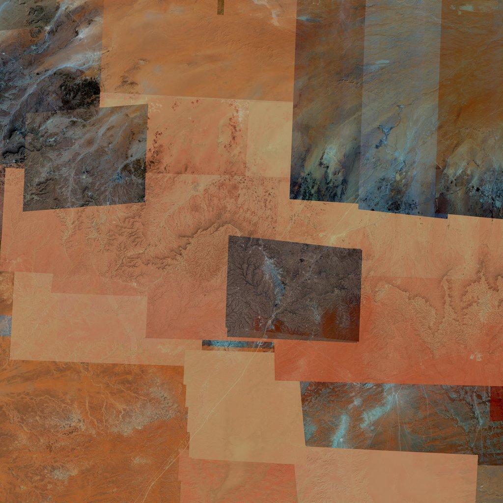 PMC Libya, Wazzin Terrains Satellite Texture