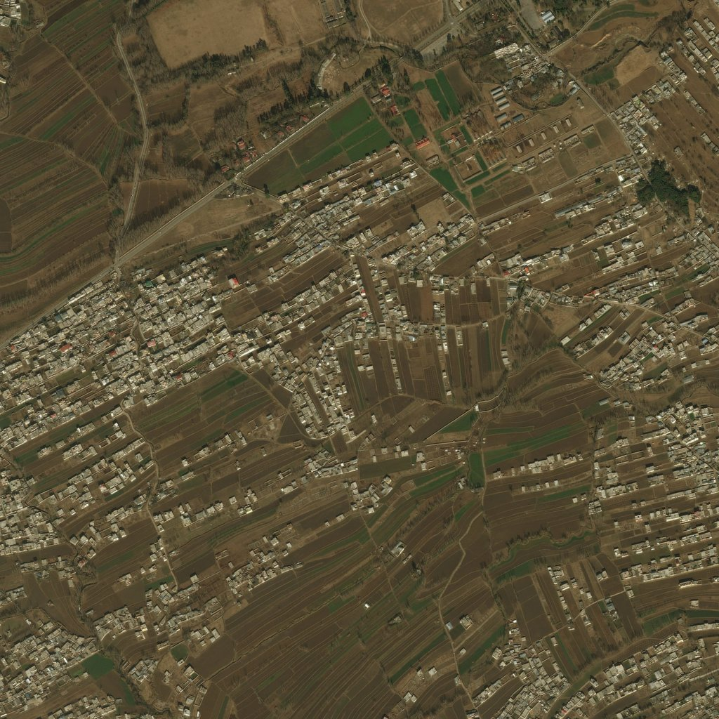 PMC Pakistan, Abbottabad 2km Terrains Satellite Texture