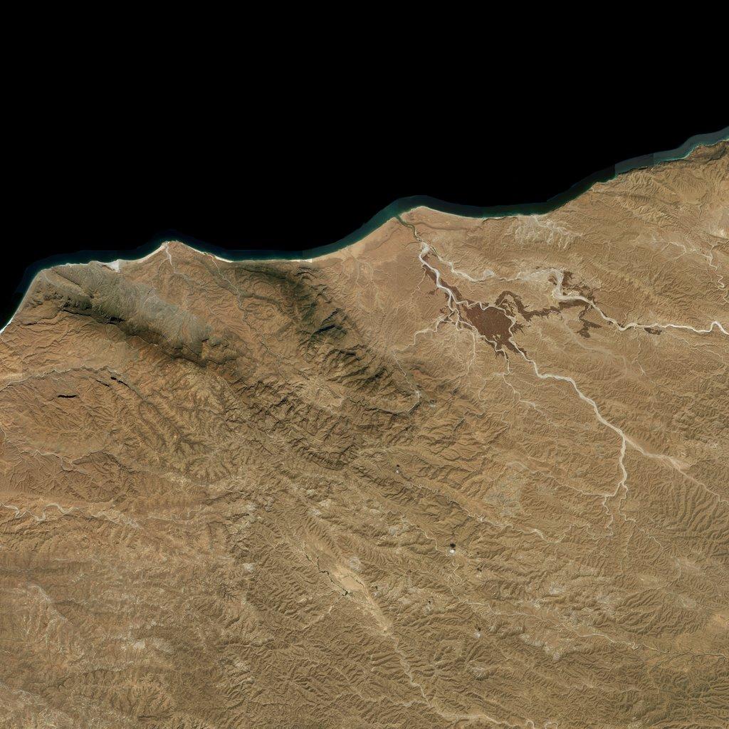 PMC Somalia, Qandala Terrains Satellite Texture