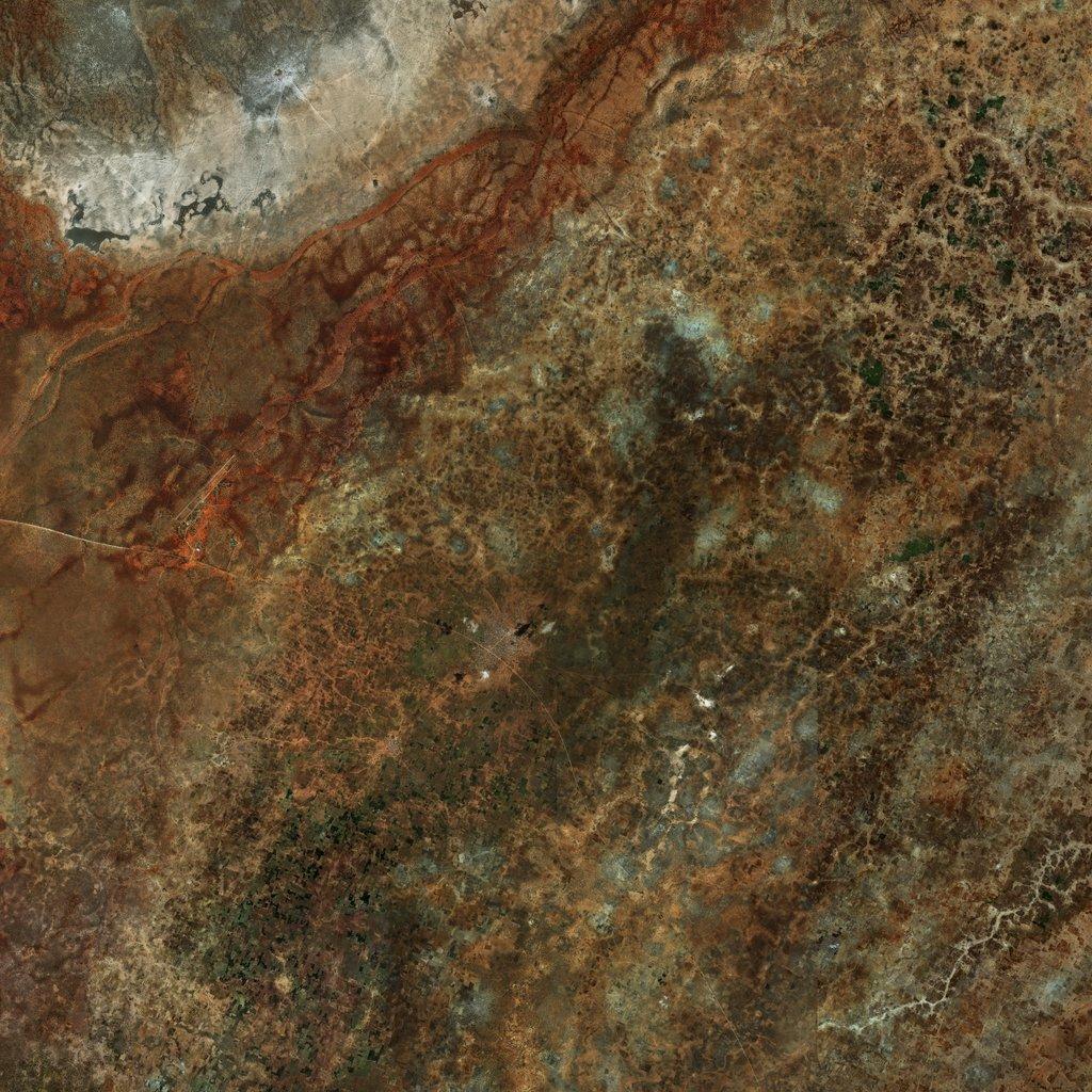 PMC Somalia, Wanlawayn Terrains Satellite Texture