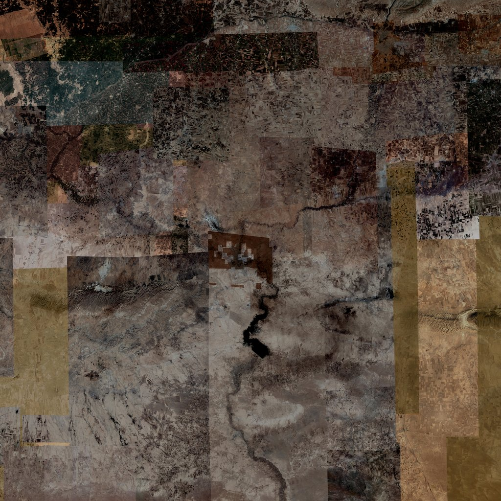 PMC Syria, Al Hasakah Terrains Satellite Texture