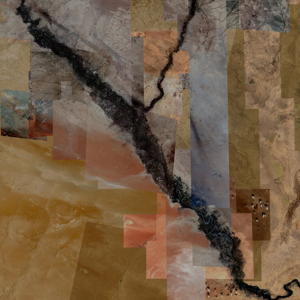 PMC Syria, Al Mayadin Terrains Satellite Texture