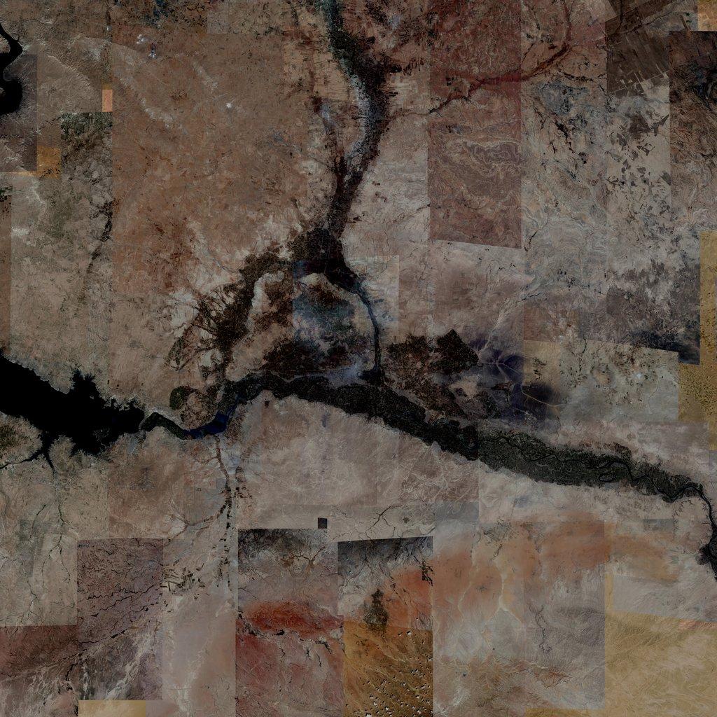PMC Syria, Ar Raqqah Terrains Satellite Texture