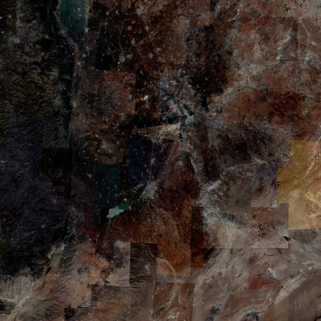 PMC Syria, Homs Terrains Satellite Texture