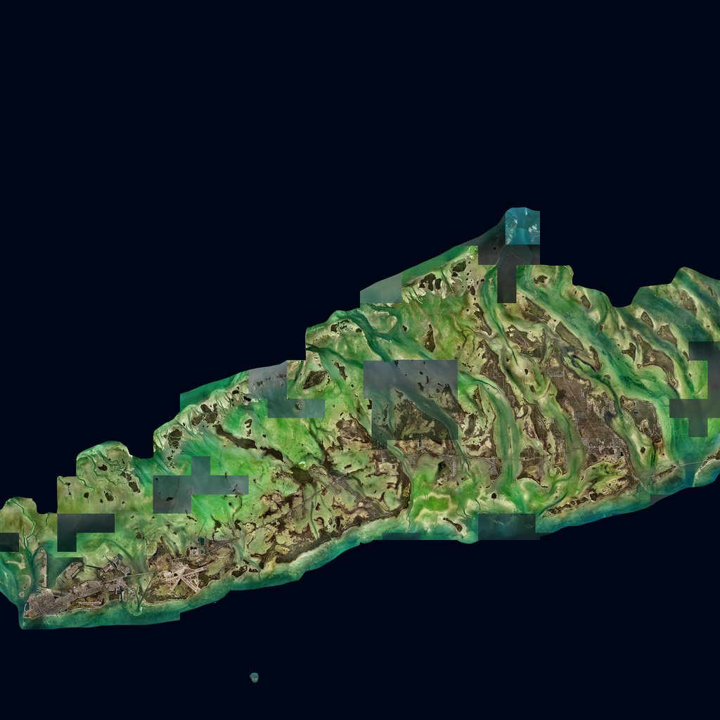 PMC USA, Florida Key West Terrains Satellite Texture