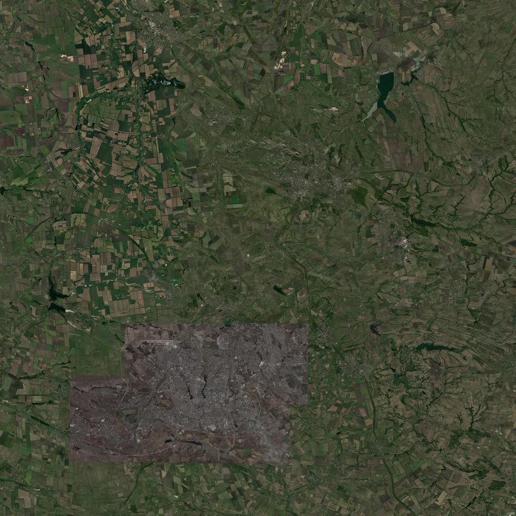 PMC Ukraine, Donetsk Terrains Satellite Texture