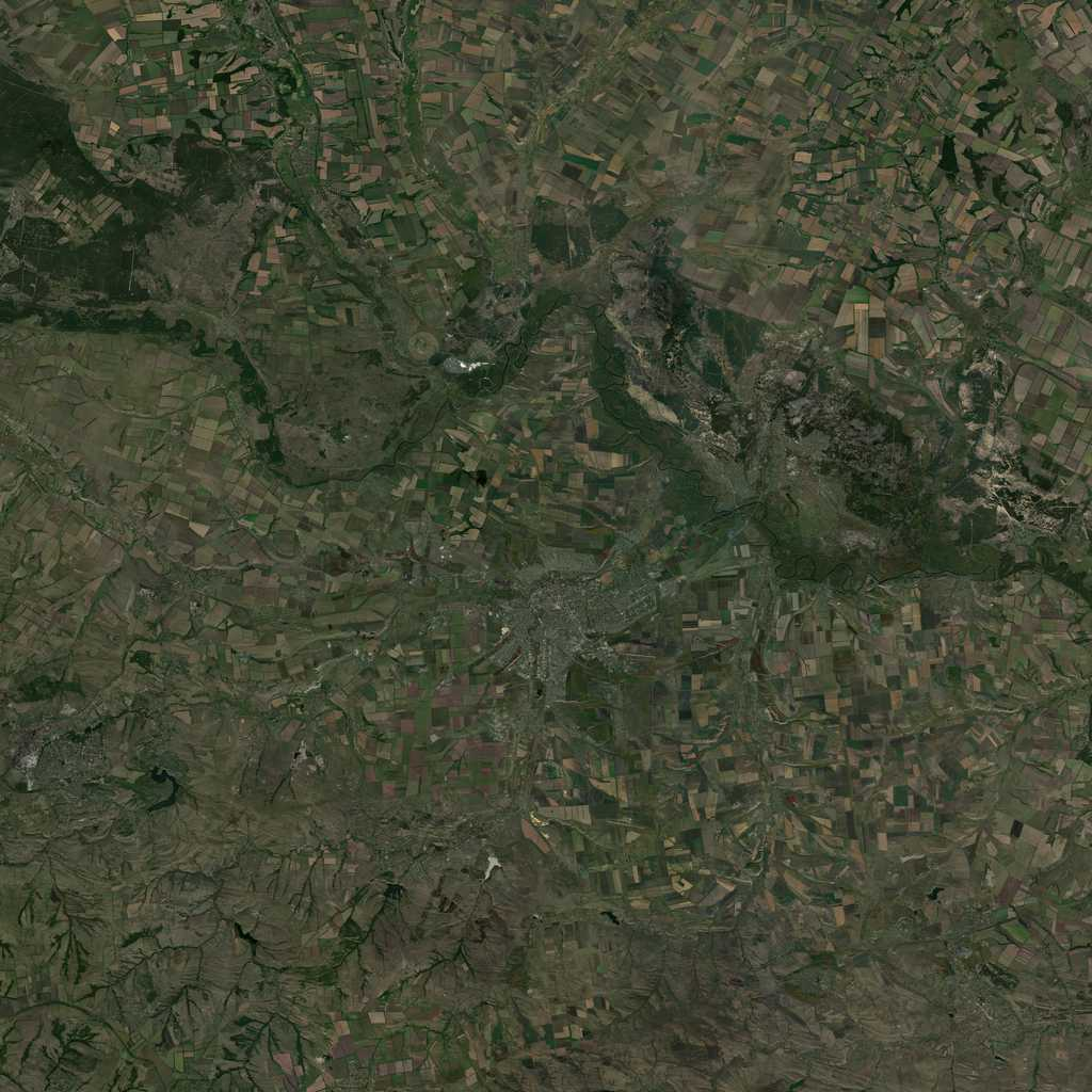 PMC Ukraine, Luhansk Terrains Satellite Texture